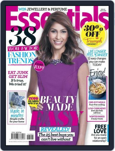 Essentials South Africa April 18th, 2016 Digital Back Issue Cover