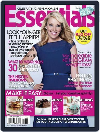Essentials South Africa April 30th, 2014 Digital Back Issue Cover