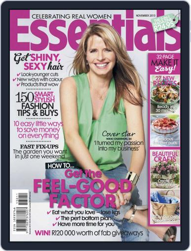 Essentials South Africa (Digital) October 20th, 2013 Issue Cover