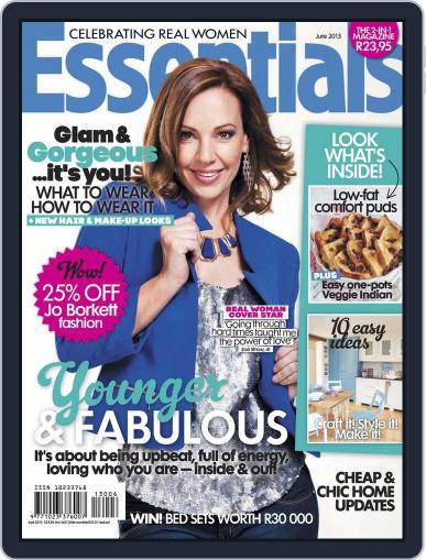 Essentials South Africa May 19th, 2013 Digital Back Issue Cover