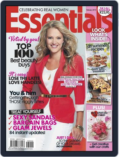 Essentials South Africa January 20th, 2013 Digital Back Issue Cover