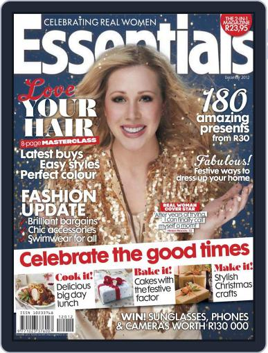 Essentials South Africa (Digital) November 18th, 2012 Issue Cover