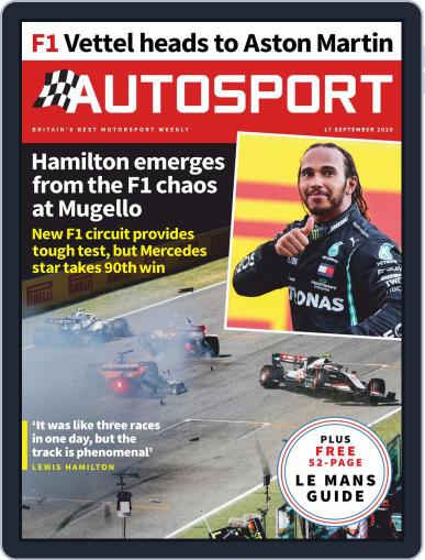 Autosport September 17th, 2020 Digital Back Issue Cover