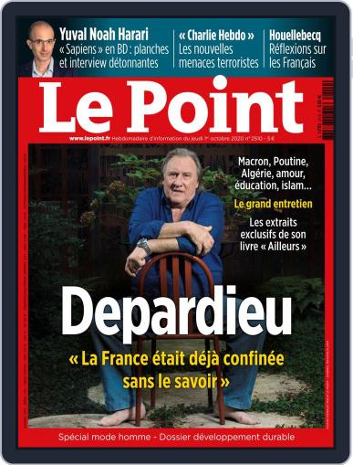 Le Point October 1st, 2020 Digital Back Issue Cover