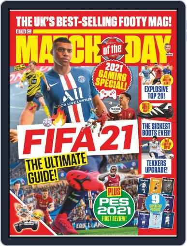 Match Of The Day September 29th, 2020 Digital Back Issue Cover
