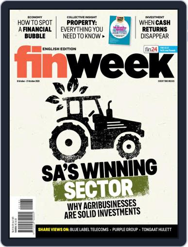 Finweek - English October 8th, 2020 Digital Back Issue Cover