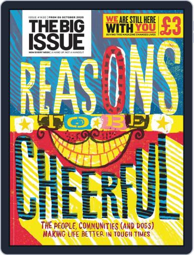 The Big Issue (Digital) October 5th, 2020 Issue Cover