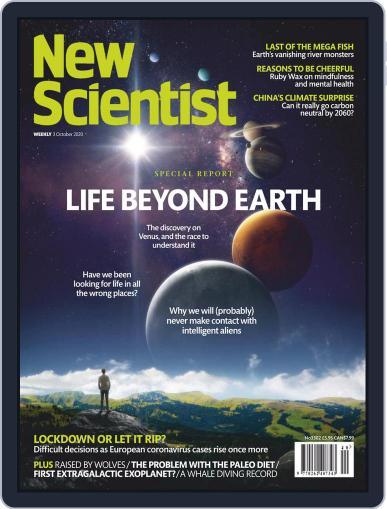 New Scientist International Edition (Digital) October 3rd, 2020 Issue Cover