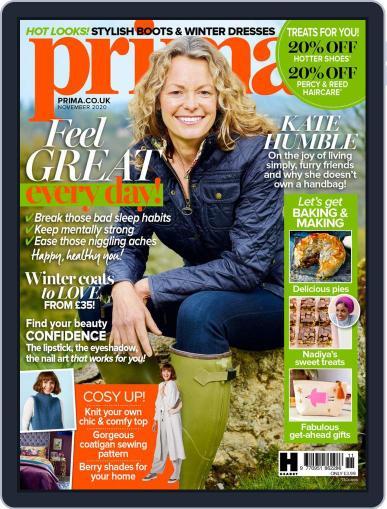 Prima UK November 1st, 2020 Digital Back Issue Cover