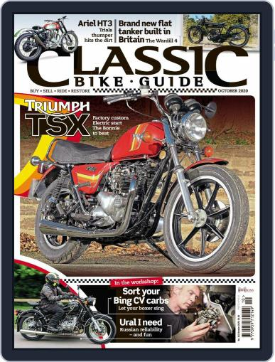 Classic Bike Guide (Digital) October 1st, 2020 Issue Cover