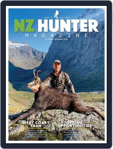 NZ Hunter October 1st, 2020 Digital Back Issue Cover