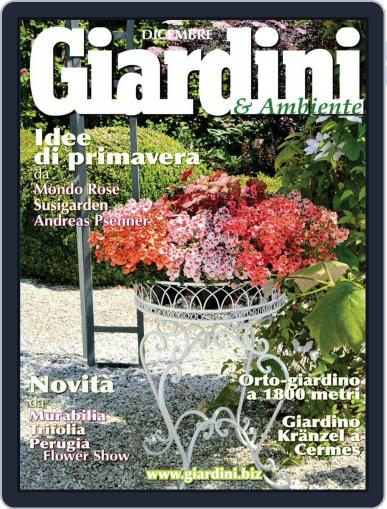 Giardini December 1st, 2015 Digital Back Issue Cover