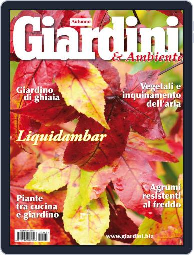 Giardini (Digital) August 28th, 2013 Issue Cover