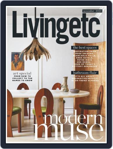 Living Etc November 1st, 2020 Digital Back Issue Cover