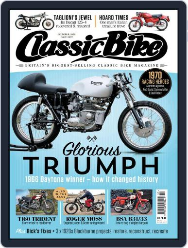 Classic Bike (Digital) October 1st, 2010 Issue Cover