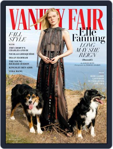 Vanity Fair UK (Digital) October 1st, 2020 Issue Cover