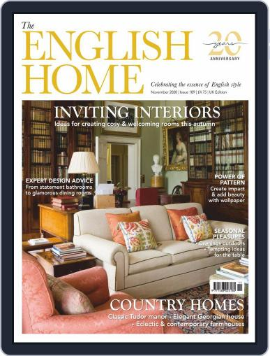 The English Home (Digital) November 1st, 2020 Issue Cover