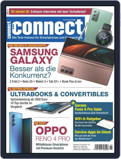Connect November 1st, 2020 Digital Back Issue Cover