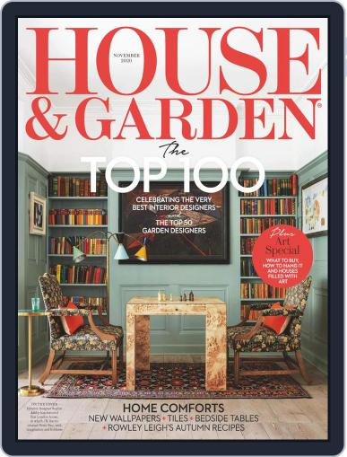 House and Garden (Digital) November 1st, 2020 Issue Cover