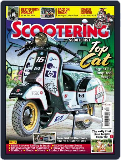 Scootering (Digital) October 1st, 2020 Issue Cover