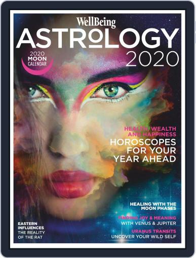 Wellbeing Astrology August 3rd, 2020 Digital Back Issue Cover