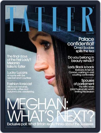 Tatler UK (Digital) November 1st, 2020 Issue Cover