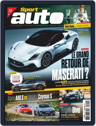 Sport Auto France (Digital) October 1st, 2020 Issue Cover