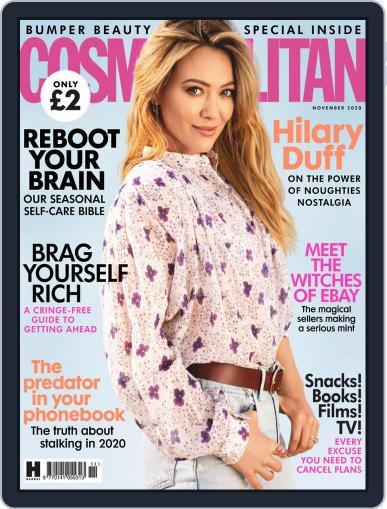 Cosmopolitan UK (Digital) November 1st, 2020 Issue Cover