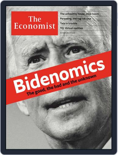 The Economist Middle East and Africa edition October 3rd, 2020 Digital Back Issue Cover