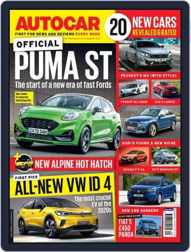 Autocar September 30th, 2020 Digital Back Issue Cover