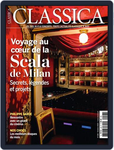 Classica October 1st, 2020 Digital Back Issue Cover