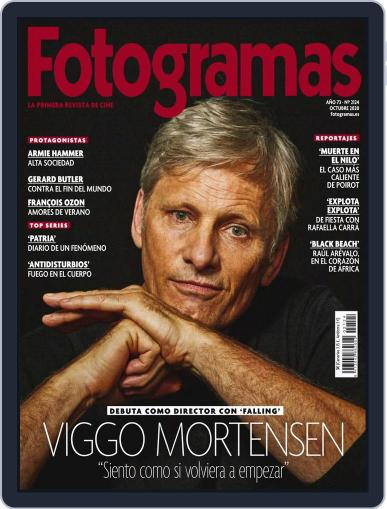 Fotogramas October 1st, 2020 Digital Back Issue Cover