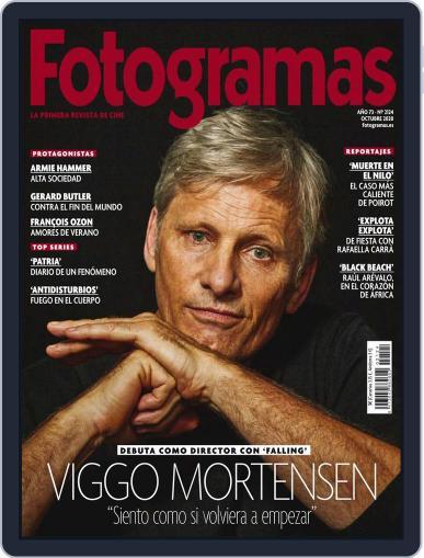 Fotogramas (Digital) October 1st, 2020 Issue Cover