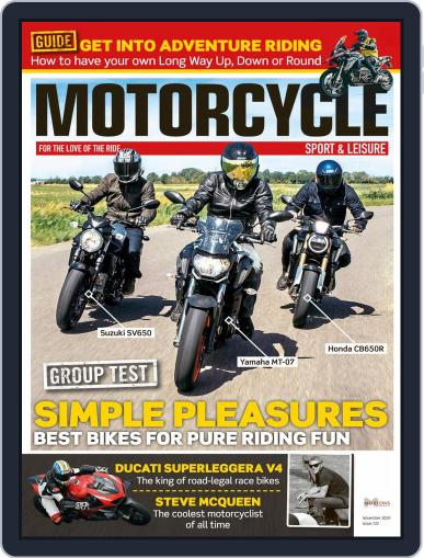 Motorcycle Sport & Leisure (Digital) November 1st, 2020 Issue Cover
