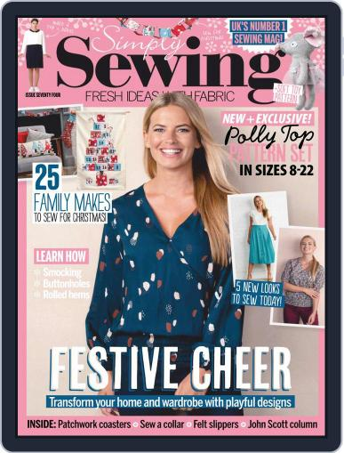 Simply Sewing (Digital) November 1st, 2020 Issue Cover