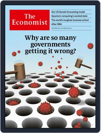 The Economist Asia Edition September 26th, 2020 Digital Back Issue Cover