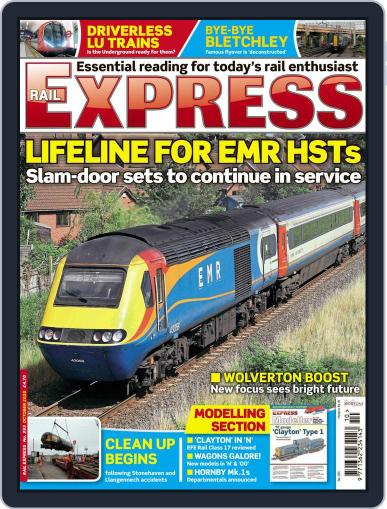 Rail Express (Digital) October 1st, 2020 Issue Cover