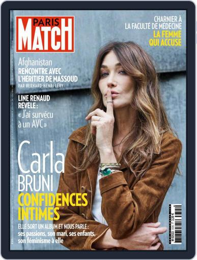 Paris Match (Digital) September 24th, 2020 Issue Cover
