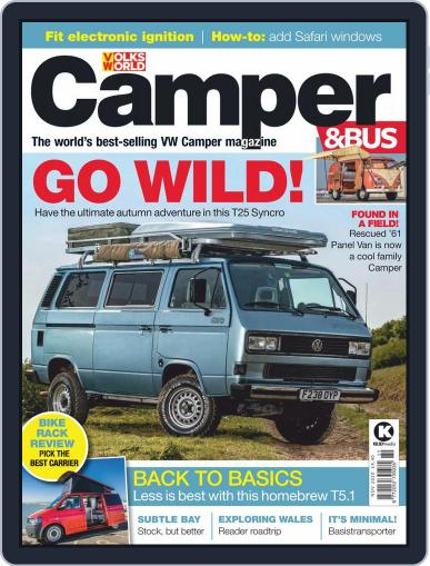 VW Camper & Bus November 1st, 2020 Digital Back Issue Cover