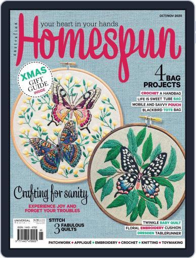 Australian Homespun (Digital) October 1st, 2020 Issue Cover