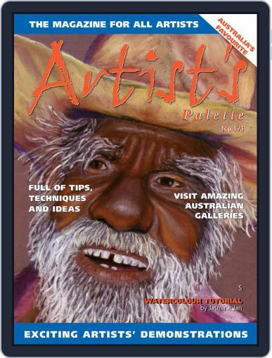 Artist's Palette (Digital) September 1st, 2020 Issue Cover