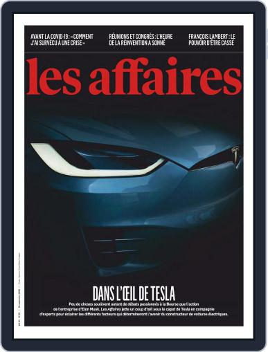Les Affaires (Digital) September 15th, 2020 Issue Cover