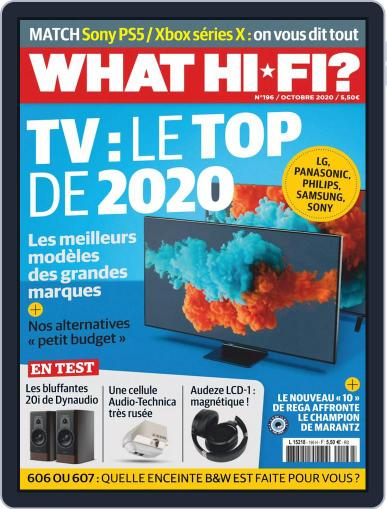 What Hifi France (Digital) October 1st, 2020 Issue Cover