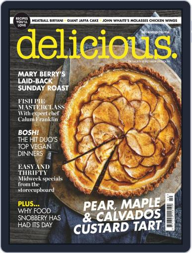 Delicious UK October 1st, 2020 Digital Back Issue Cover