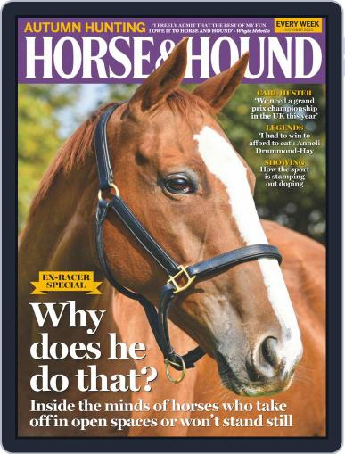 Horse & Hound (Digital) October 1st, 2020 Issue Cover