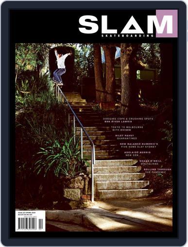 Slam Skateboarding September 1st, 2020 Digital Back Issue Cover