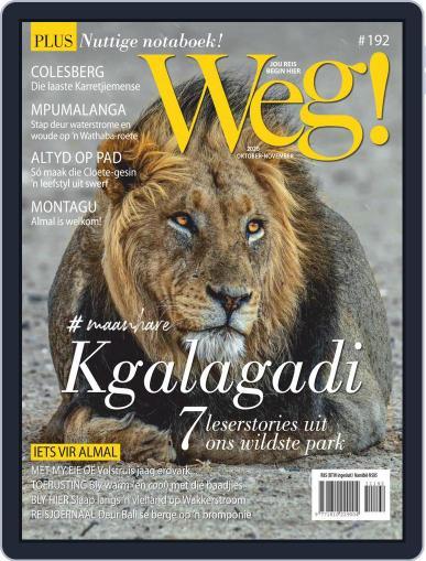 Weg! October 1st, 2020 Digital Back Issue Cover