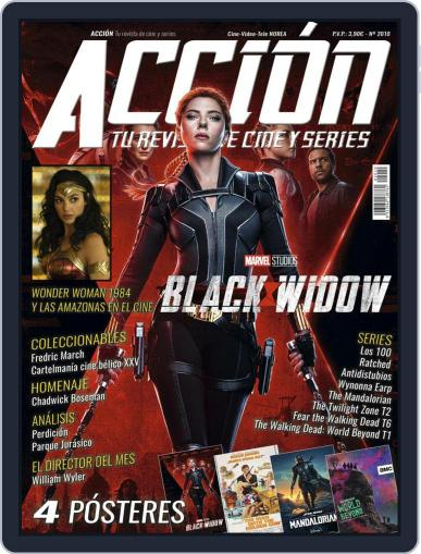 Accion Cine-video (Digital) October 1st, 2020 Issue Cover