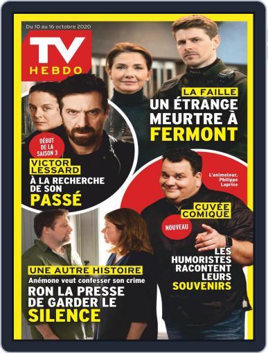 Tv Hebdo October 10th, 2020 Digital Back Issue Cover