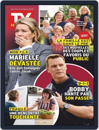 Tv Hebdo October 3rd, 2020 Digital Back Issue Cover